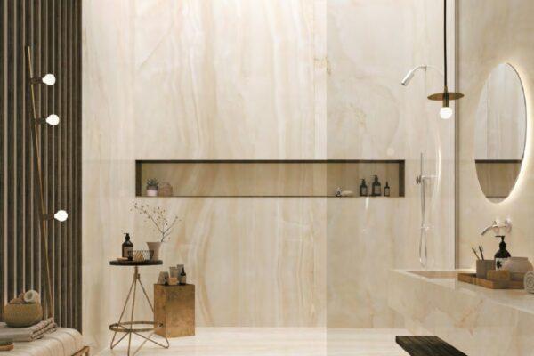 Linee effetto marmo Grandi lastre Mirage